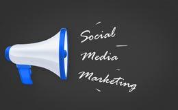 Mercado social dos media fotografia de stock royalty free