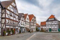 Mercado, Soest, Alemanha fotografia de stock