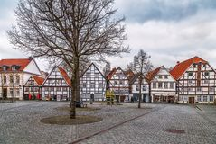 Mercado, Soest, Alemanha imagem de stock