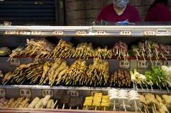 Mercado Taiwán de la noche Imágenes de archivo libres de regalías