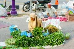 Mercado temporal de domingo Imagen de archivo