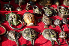 Mercado tibetano Imagens de Stock Royalty Free