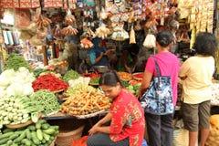 Mercado tradicional fotografia de stock