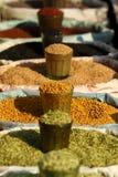 Mercado tradicional das especiarias Imagem de Stock Royalty Free
