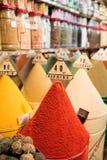 Mercado tradicional das especiarias Imagens de Stock Royalty Free