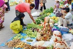 Mercado tradicional de domingo Imagen de archivo