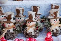 Mercado tradicional de la Navidad Fotos de archivo libres de regalías
