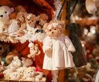 Mercado tradicional de la Navidad Foto de archivo