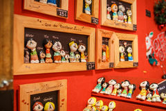 Mercado tradicional de la Navidad Imagen de archivo libre de regalías