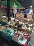 Mercado tradicional do alimento no Tóquio Fotos de Stock Royalty Free