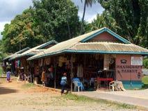 Mercado tradicional en la ciudad de Nadi Fotos de archivo