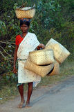 Mercado tribal indio Imágenes de archivo libres de regalías