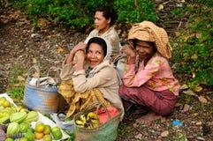 Mercado tribal tradicional em uma ilha Timor, Indonésia Imagens de Stock