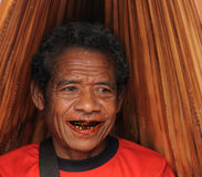 Mercado tribal tradicional em uma ilha Timor, Indonésia Imagens de Stock Royalty Free