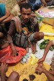 Mercado tribal tradicional em uma ilha Timor, Indonésia Fotografia de Stock Royalty Free