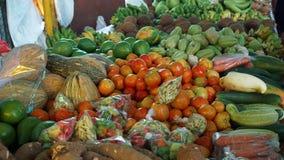 Mercado tropical Foto de archivo