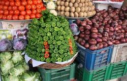 Mercado vegetal Imagen de archivo libre de regalías