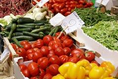 Mercado vegetal Foto de archivo libre de regalías