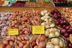 Mercado vegetal Fotografia de Stock