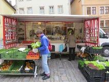 Mercado vegetal Fotografia de Stock Royalty Free