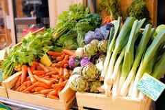Mercado vegetal Fotos de Stock