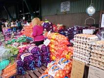 Mercado vegetal fotografía de archivo
