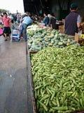 Mercado vegetal Imágenes de archivo libres de regalías