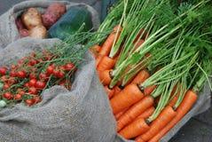 Mercado vegetal chinês Fotos de Stock
