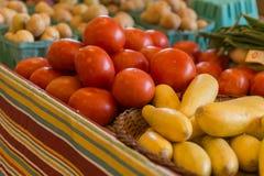 Mercado vegetal de los granjeros Fotos de archivo