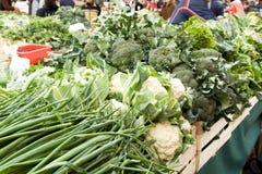 Mercado vegetal en Zagreb fotografía de archivo