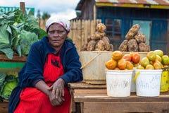 Mercado vegetal filipino foto de stock royalty free