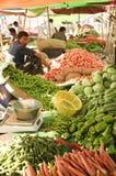 Mercado vegetal indiano Foto de Stock