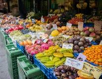 Mercado vegetal local Foto de archivo