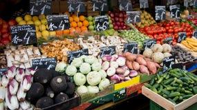 Mercado vegetal local Fotografía de archivo