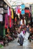 Mercado velho da cidade de Jerusalem Imagens de Stock