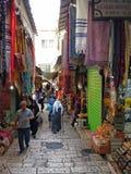 Mercado velho da cidade de Jerusalem Imagens de Stock Royalty Free