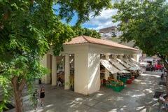Mercado velho de Ibiza fotografia de stock