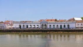 Mercado velho Salão, Tavira, Portugal imagem de stock