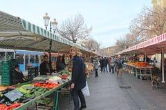 Mercado verde agradável Imagens de Stock Royalty Free