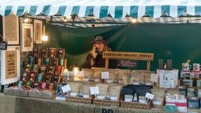 Mercado victoriano de la Navidad - muelles 23 de Gloucester imagen de archivo libre de regalías