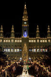 Mercado Viena de la Navidad imagenes de archivo
