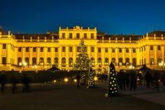 Mercado Viena de la Navidad fotos de archivo