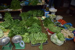 Mercado Vietnam Fotografia de Stock