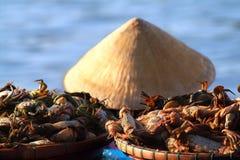 Mercado vietnamita imagen de archivo