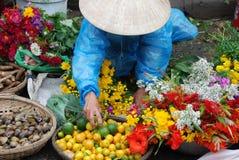Mercado vietnamita Imagenes de archivo
