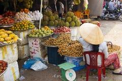 Mercado vietnamita Imágenes de archivo libres de regalías