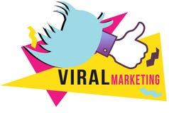 Mercado viral Foto de Stock
