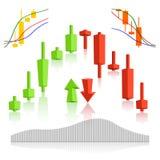 Mercadoria, vetor de troca dos estrangeiros Foto de Stock