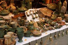 Mercadorias da cerâmica Imagem de Stock