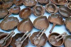 Mercadorias de madeira Imagem de Stock